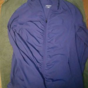 Version purple active wear jacket